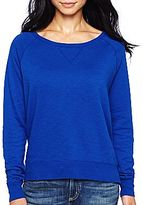 JCPenney jcpTM Long-Sleeve High-Low Sweater