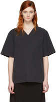Craig Green Black V-neck Blouse
