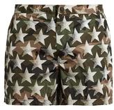 Valentino Camustars-print swim shorts