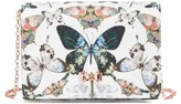Ted Baker Strisa Butterfly Print Clutch - Ivory