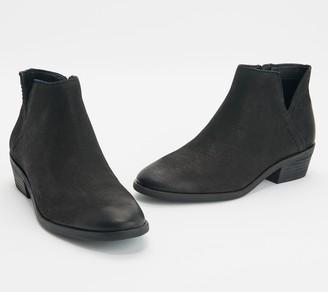 Frye & co. Leather Colorblock Booties - Caden