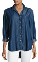 Neon Buddha Endless Denim Shirt w/ Mixed Buttons
