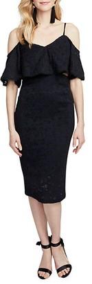 Rachel Roy Mia Lace Cold-Shoulder Dress