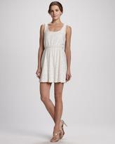 Alice + Olivia Gabby Blouson Sequin Tank Dress