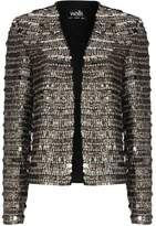 Wallis Black Sequin Blazer