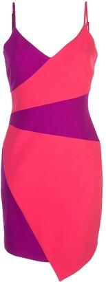 Nicole Miller Panelled Mini Dress