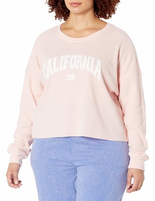 Forever 21 Women's Plus Size California Graphic Thermal