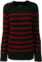 By Malene Birger striped knitted top