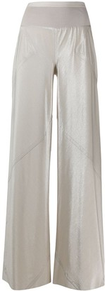 Rick Owens Lilies Tecuatl satin wide-leg trousers