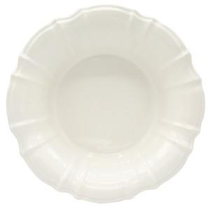 Chloé Euro Ceramica White Salad Bowl