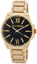 Steve Madden Women&s Analog Alloy Bracelet Watch