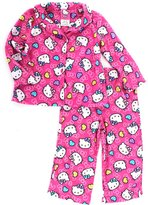 SANRIO Hello Kitty Toddler Pink Flannel Pajamas (3T)