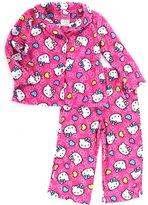 SANRIO Hello Kitty Toddler Pink Flannel Pajamas