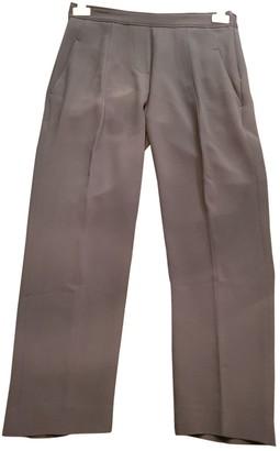 Brunello Cucinelli Black Silk Trousers
