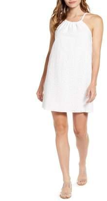 Gibson Halter Summer Mini Dress (Regular & Petite)