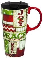 Evergreen Holiday Cheer Perfect Cup 17oz Ceramic
