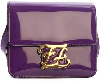 Fendi Karligraphy Bag Purple