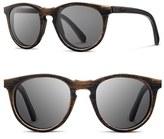 Shwood Women's 'Belmont' 51Mm Wood Sunglasses - Distressed Walnut/ Grey