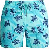 Vilebrequin Moorea Starlettes and Turtles-print swim shorts