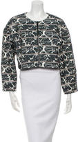 Elizabeth and James Printed Boxy Jacket w/ Tags