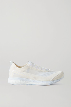 adidas by Stella McCartney Boston Mesh And Primeknit Sneakers - Cream