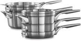 Calphalon Premier Space-Saving 8-pc. Stainless Steel Cookware Set