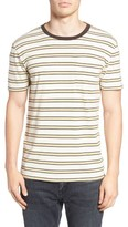 Brixton Men's Stripe Pocket T-Shirt