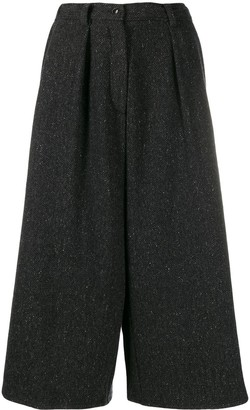 Dusan Cropped Palazzo Trousers