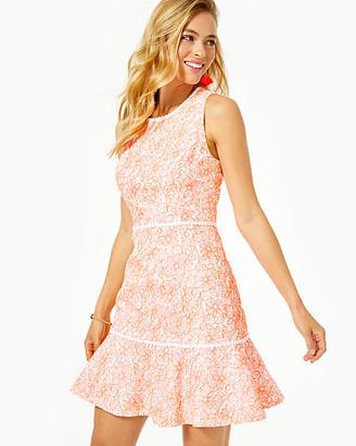 Lilly Pulitzer Ellen Flounce Dress