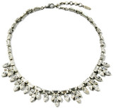 Ben-Amun Small Crystal Baguette Necklace