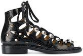 Toga Pulla crystal-embellished sandals - women - Leather/metal - 36