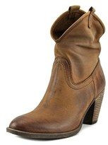 Geste Proposition 70 Nabuk Round Toe Leather Bootie.