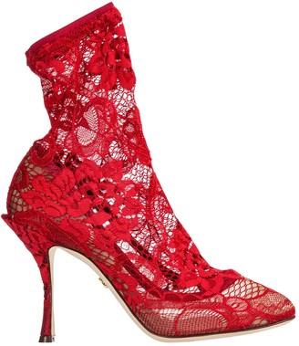 Dolce & Gabbana Lace Boots