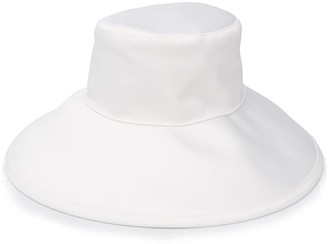 Courreges Satin Sunhat