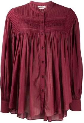 Etoile Isabel Marant Pleated Button-Up Shirt
