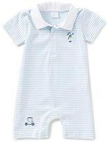 Edgehill Collection Baby Boys Newborn-6 Months Golf Embroidered Shortall