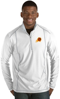 Antigua Men's Phoenix Suns Tempo Quarter-Zip Pullover