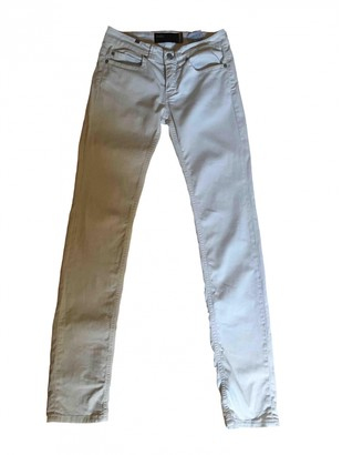 Notify Jeans Beige Cotton - elasthane Jeans for Women