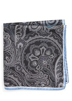 Nordstrom Men's Paisley Silk Pocket Square