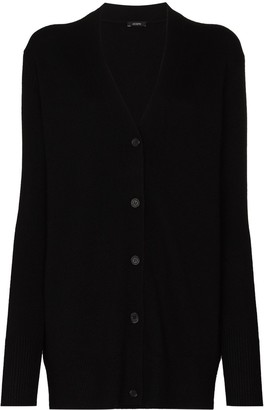Joseph Button-Up Cashmere Cardigan
