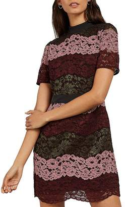 Ted Baker Jaseyy Color-Blocked Lace Dress