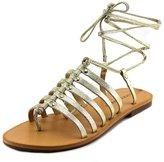 Lucky Brand Colette Women US 7.5 Gold Slingback Sandal