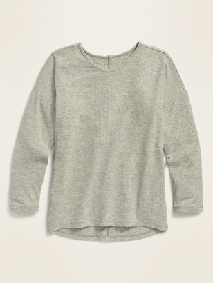 Old Navy Luxe Rib-Knit Voop-Neck Top for Girls