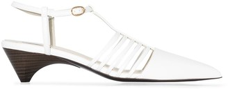 Stella McCartney 55mm Cage Faux Leather Pumps