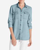 Eddie Bauer Women's Tranquil Indigo Shirt