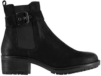 Linea Rugged Buckle Boots
