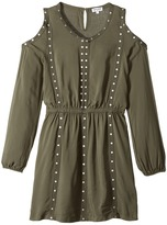 Splendid Littles Grommet Cold Shoulder Dress Girl's Dress