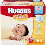 Huggies Little Snugglers 186-Count Size 2 Diapers