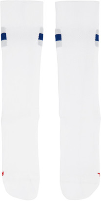 On White Clubhouse Cotton Socks