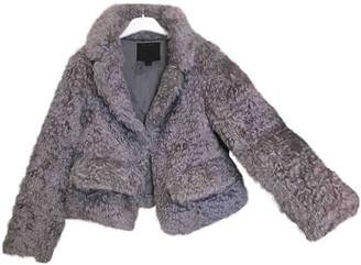 Marc Jacobs Grey Faux fur Coats